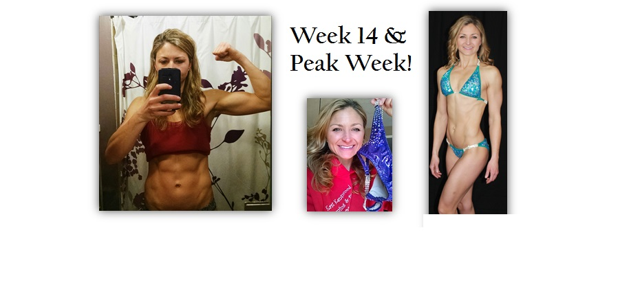 Belated Week 14 Update! & Peak Week!