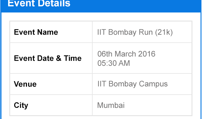 IIT Bombay Run