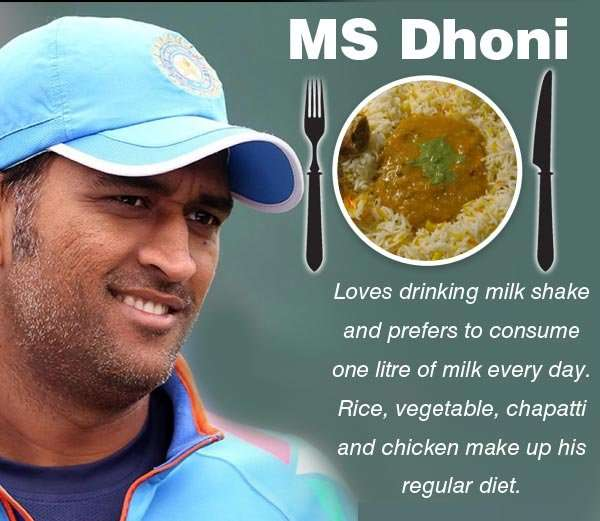 MS Dhoni Diet Plan