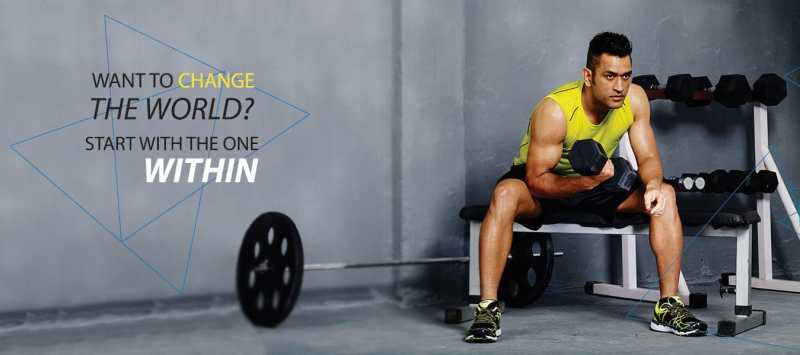 MS Dhoni diet and workout routine