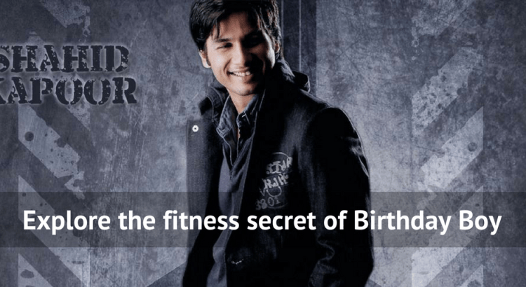 Shahid Kapoor Diet plan and fitness routine