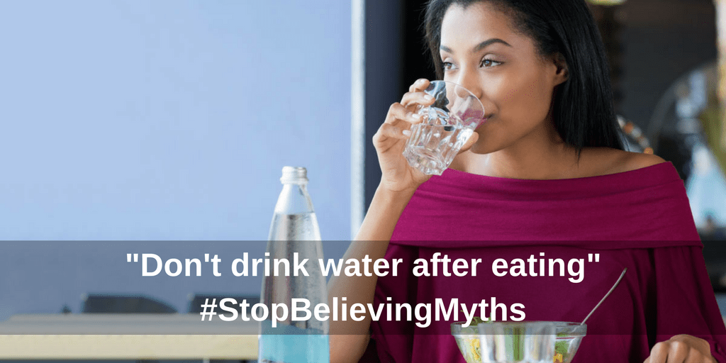 Drinking water myth