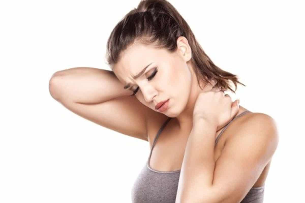 shoulder acne