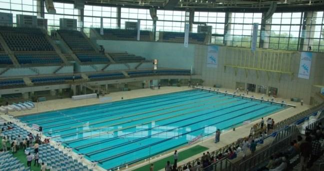 Talkatora Swimming Complex: Heated pools in Delhi