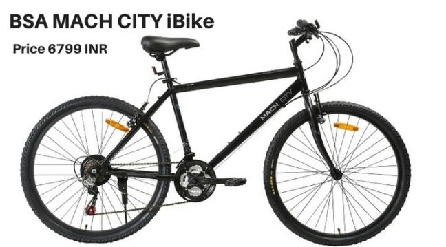 BSA MACH CITY iBike: cycle for beginners