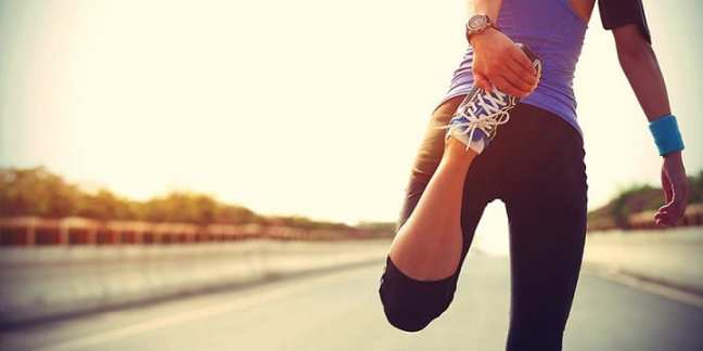 running stretches: time to tapering
