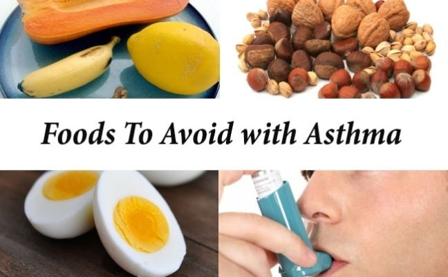 food avoid in asthma