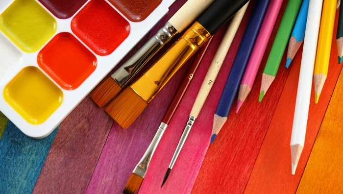 drawing or painting: new year resolution
