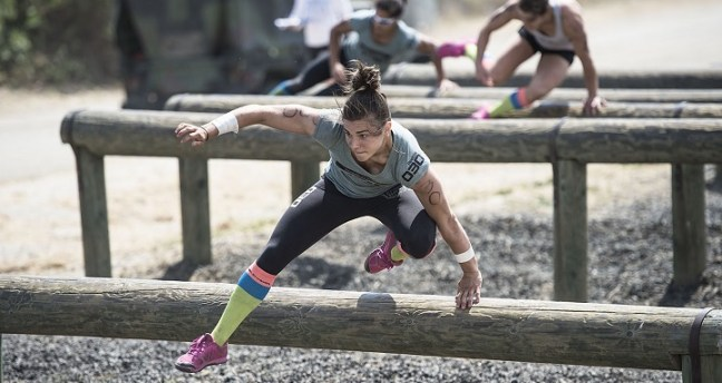obstacle race: new year resolution