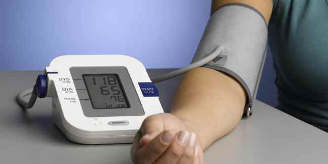 basic healthcare devices for home: blood pressure monitor