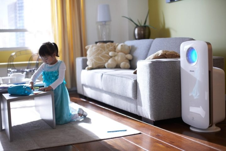 basic healthcare devices for home: air purifier