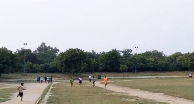 sports complex Sector 12 Faridabad: Fitso running programme