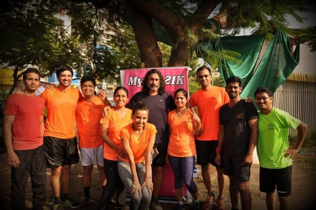 free runners: running groups in Pune