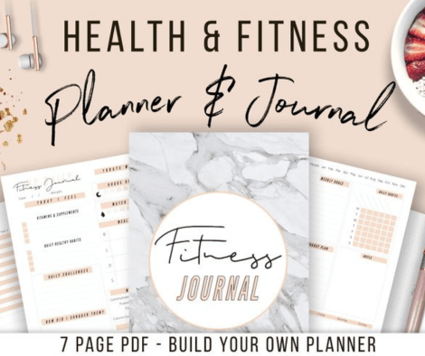 MillennialMillionaire Health and Fitness Planner Printable
