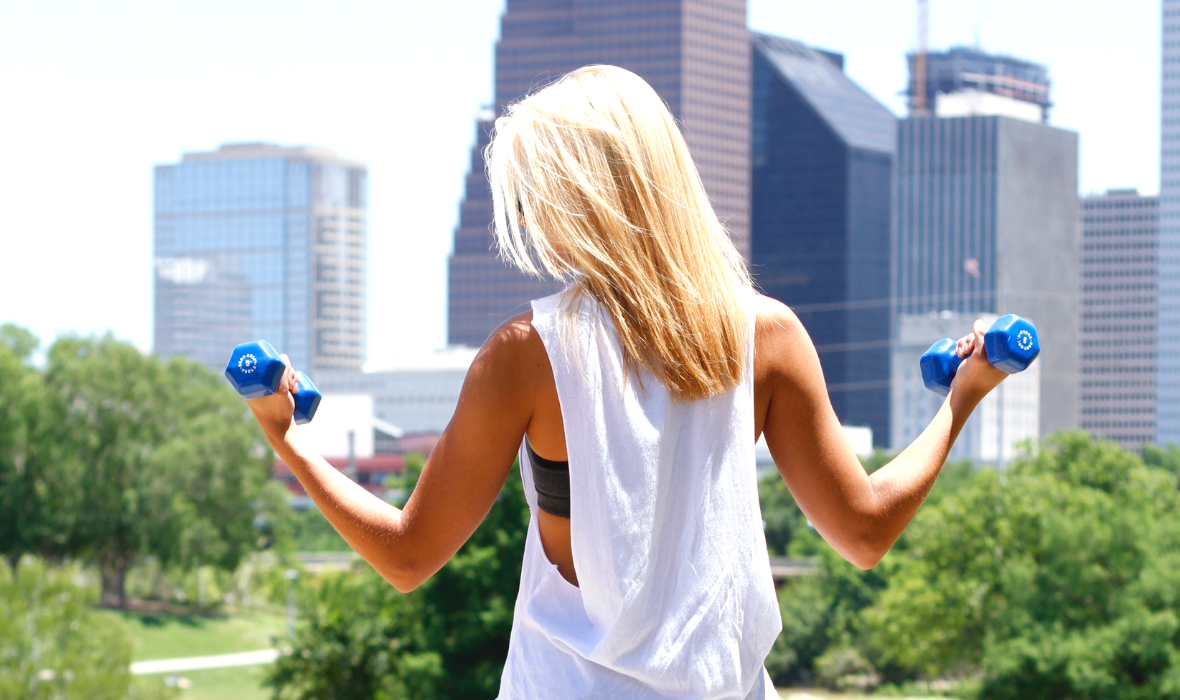 how to stay cool while exercising in the heat