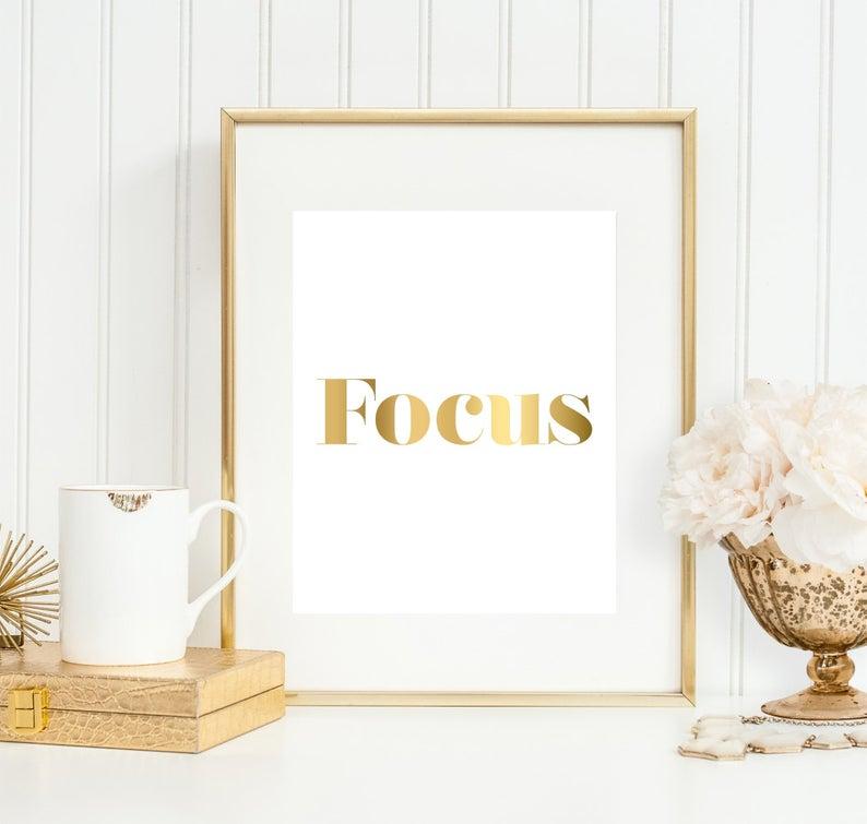 Focus Print College Decor