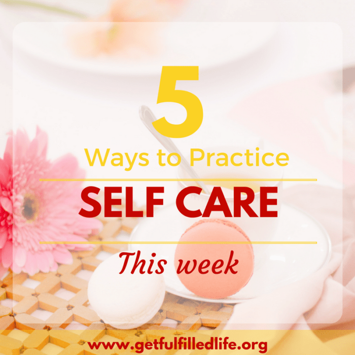 5 Ways To Practice Self Care This Week