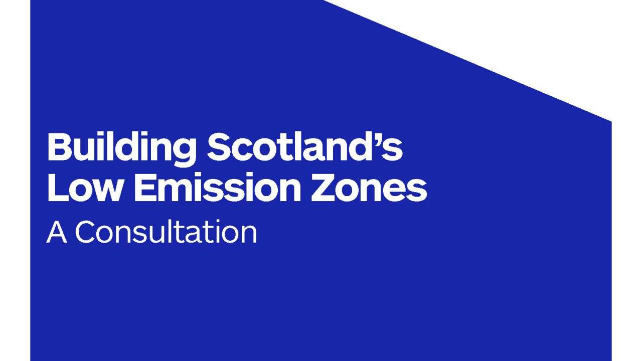 Low Emission Zones
