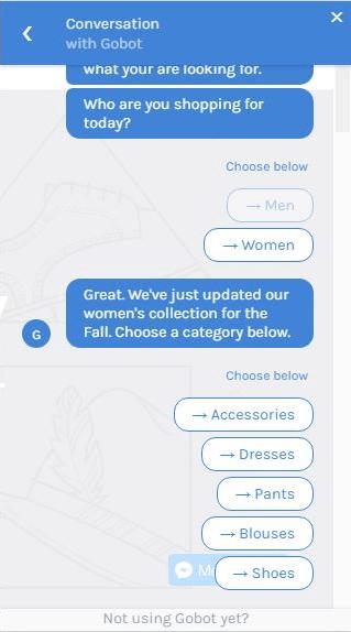 Gobot Personal Shopper Bot 1