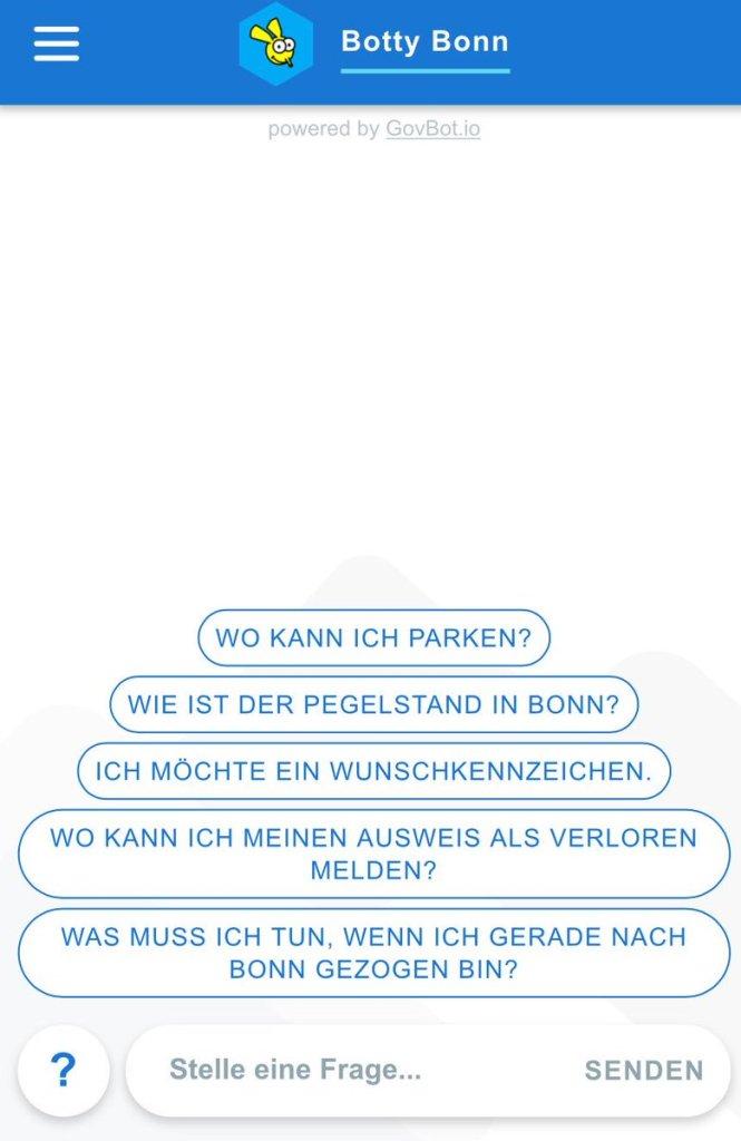 Bonn City Chatbot