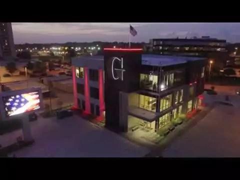 Baton Rouge Office at night