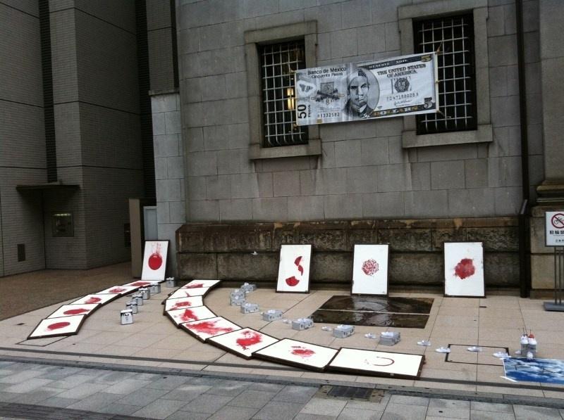 旧日本銀行広島支店(旧日銀)展示