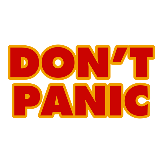 Don't Panic! - Get Irked
