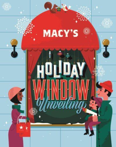 Macy's Herald Square Window Unveiling