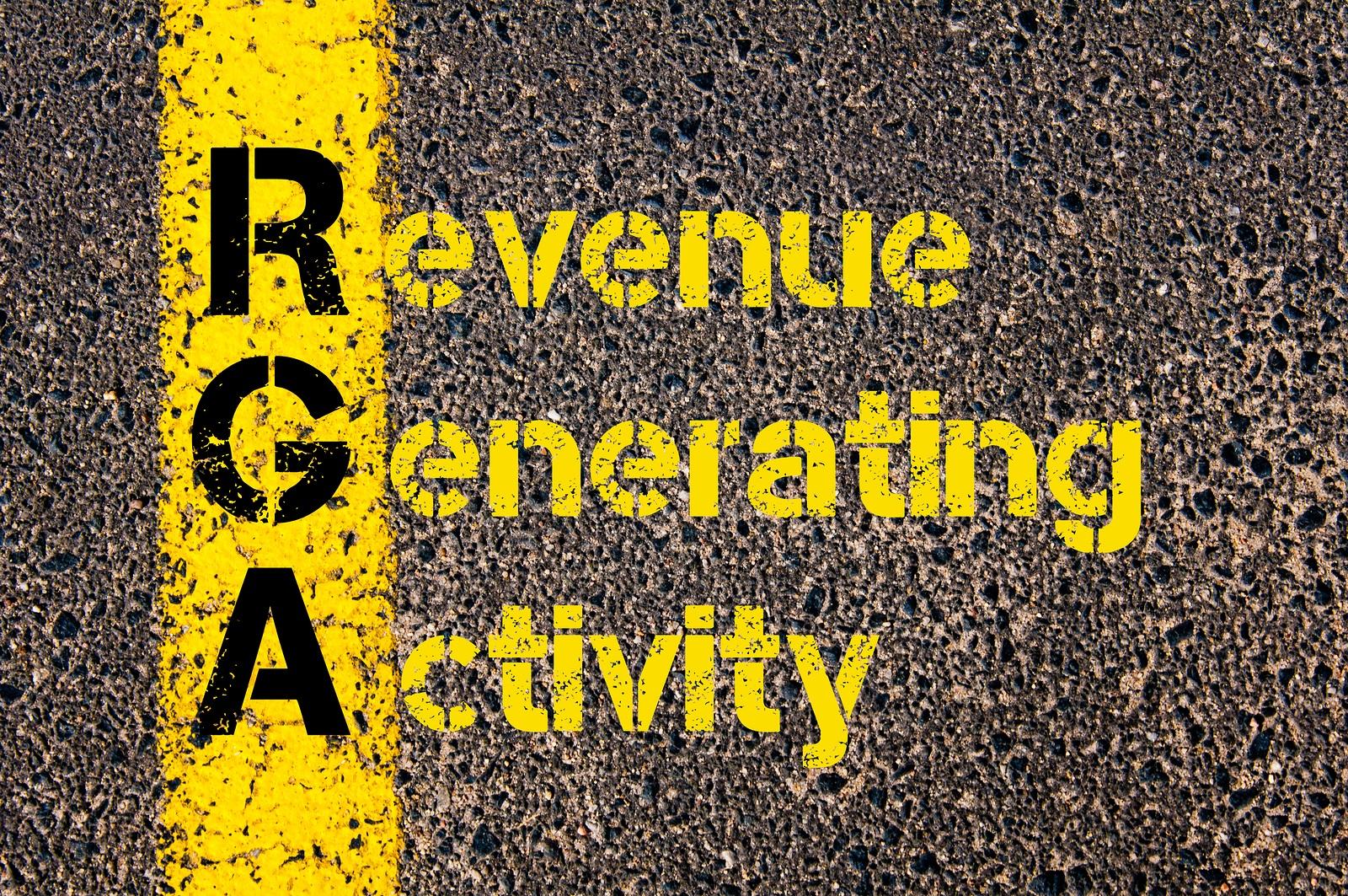 Focus on High Revenue Generating Activities