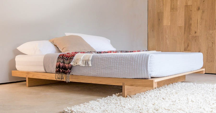 Low Fuji Attic Platform Bed No Headboard