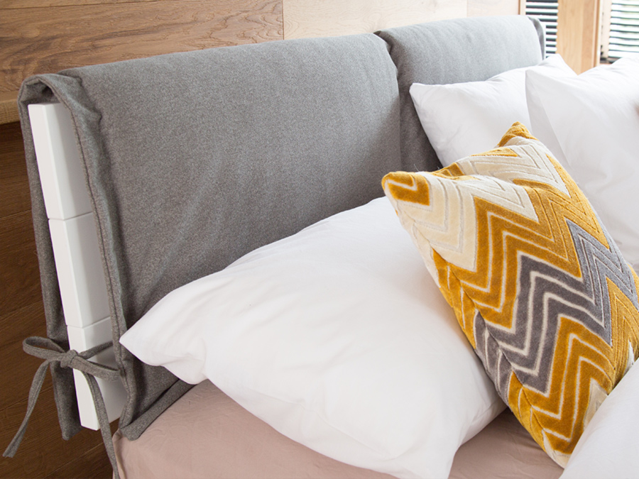 padded bed headboard cover