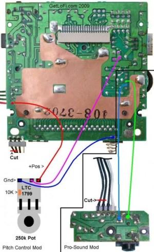 GameBoy Pitch Modification and Pro Sound Kit | GetLoFi