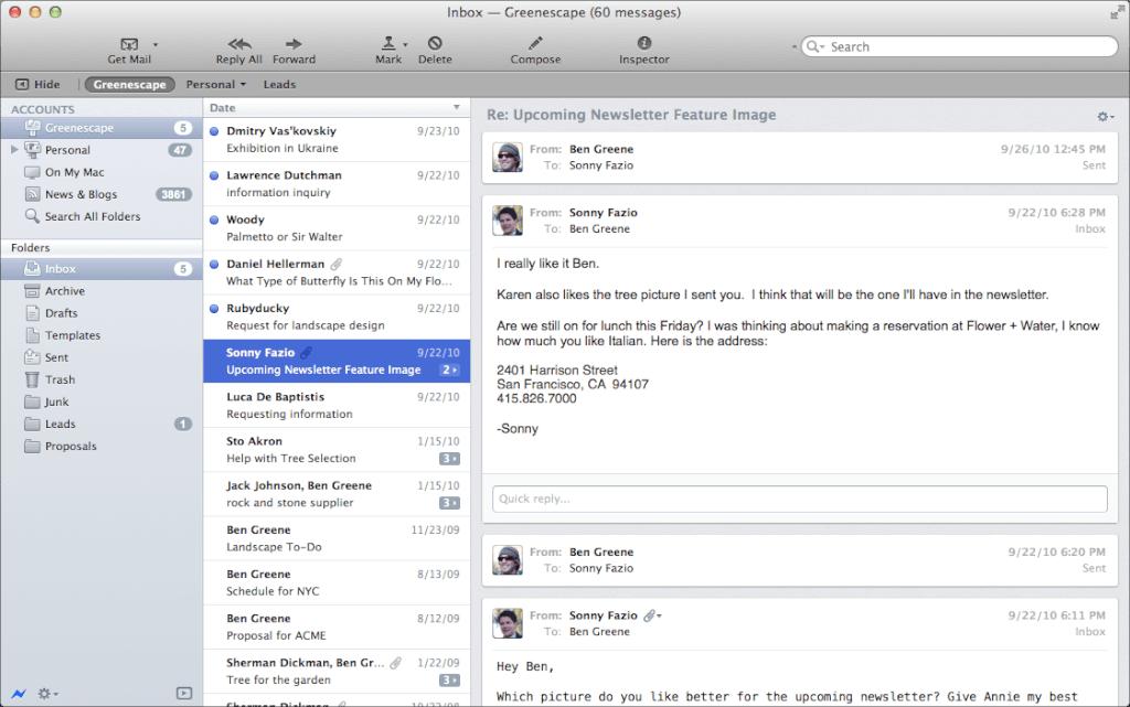 Windows Alternativen Zum Besten Mail Programm Fur Mac Im Jahr 2020