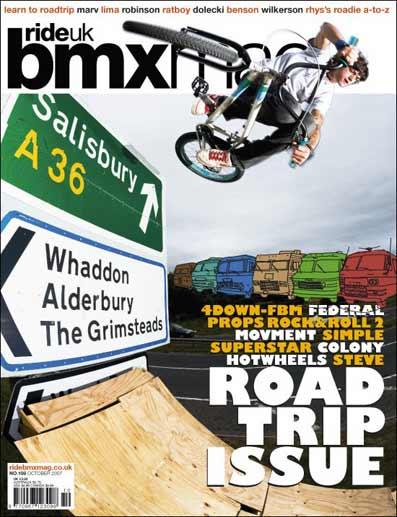 RideUK BMX Mag issue No.108 - October 2007
