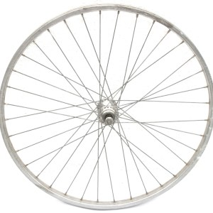 Rear Wheel 24inch 540etrto Maillard Hub Single Speed Freewheel Silver Alesa 36H Rim