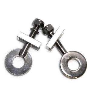 Kojak Chain Tensioners, CNC Steel Standard type. Chrome 14mm CH4JK4
