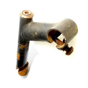 """65mm Black Quill Handlebar Stem 1"""" / 21.1mm Steerer & 25.4mm Bar Clamp Allen Key"""