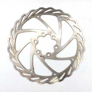 Disc Brake Rotor 160mm Silver 6 Bolt