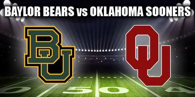 Image result for Baylor Bears vs. Oklahoma Sooners
