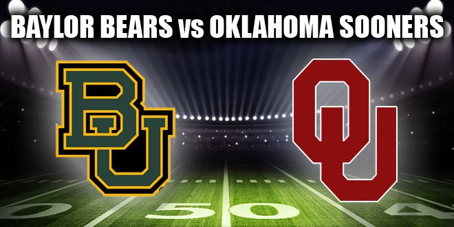 Image result for Baylor Bears vs. Oklahoma Sooners