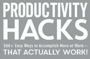 productivity hacks get motivated buddies accountability