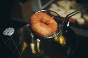 fried donut - Paul Blart