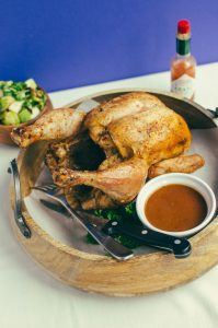Delicious Spicy Beer Can Chicken