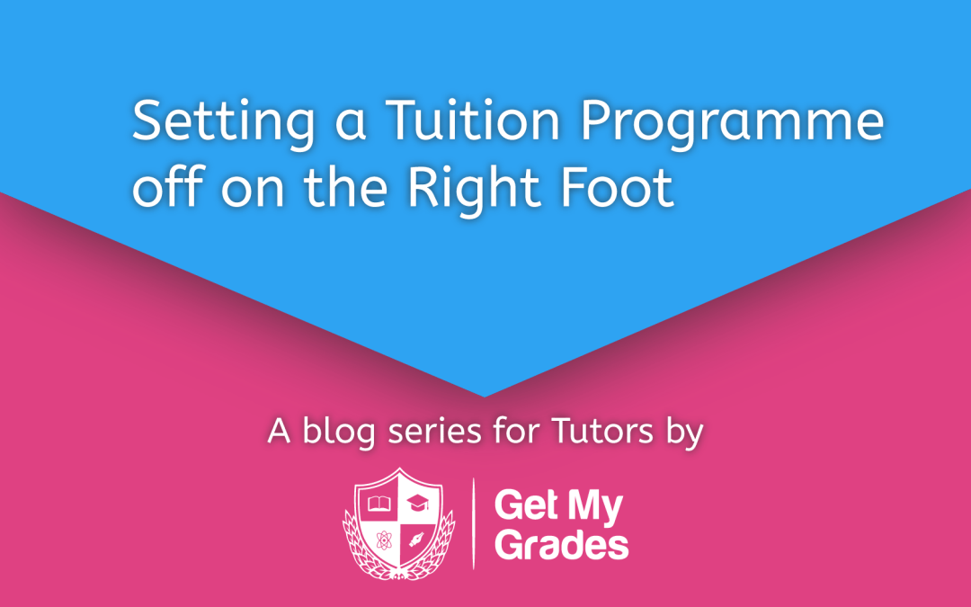 Setting a Tuition Programme off on the Right Foot