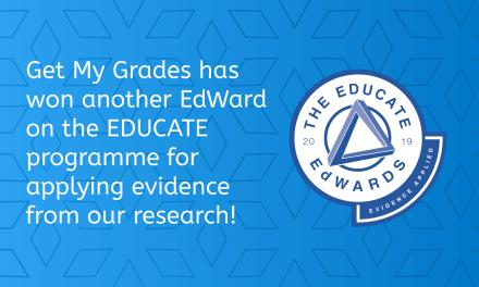 EDUCATE EdWard – Evidence Applied