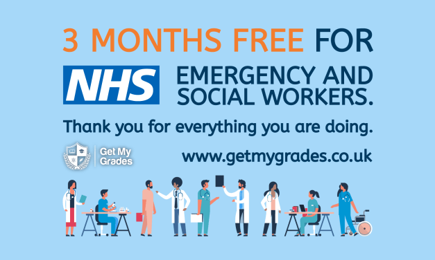 3 Months Free for NHS, Emergency and Social Services