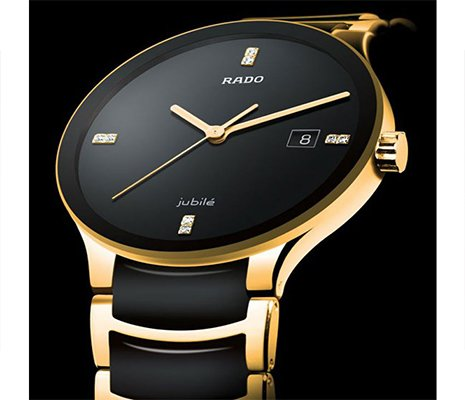 Rado Jubile Watch Golden Black in Pakistan