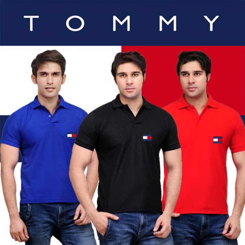 2ea48e521 Buy Pack Of 3 Tommy Polo T Shirts in Pakistan