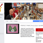 Party with paint Facebook Mockup