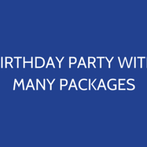 Kids Parties With Many Packages